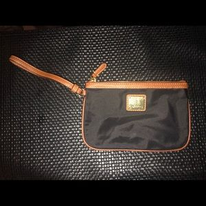 Ralph Lauren Canvas Wristlet